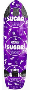 Omen Longboards Deck: Sugar 39 Purple Boards- Edge Boardshop