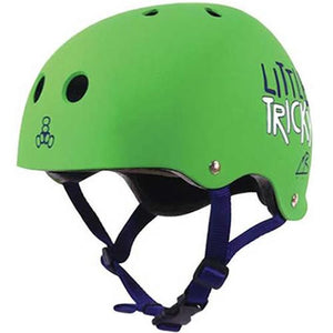 Triple 8 Helmet: Little Tricky CPSC Youth EDGE Green