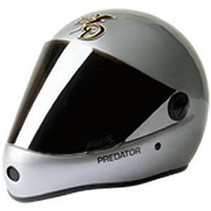 Sector 9 Full Face Helmet: DD Draft Full Face Silver