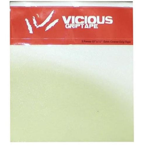 Vicious Grip Tape: Coarse CLEAR 4 Pack