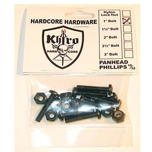 Khiro Hardware: Truck Mount Panhead Bolts 8 Pack Hardware- Edge Boardshop