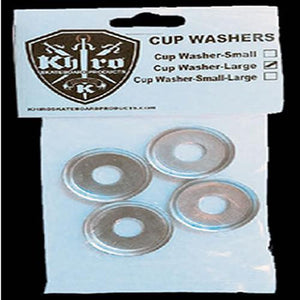 Khiro Hardware: Cup Washers Large 4 Pack Bushing Washers- Edge Boardshop