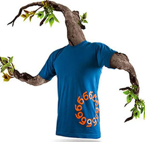 Orangatang T Shirt: O Tang Logo Blue T Shirts- Edge Boardshop