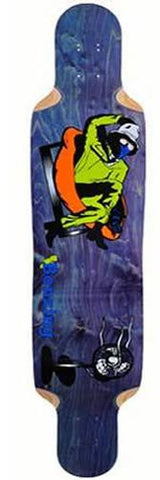 California Bonzing Deck: Urban Shred Sled 42 Top Mount Boards- Edge Boardshop
