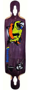 California Bonzing Deck: Urban Shred Sled 42 Drop Thru Boards- Edge Boardshop