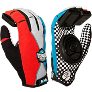 Sector 9 Gloves: Rally Junior Slide Gloves Blue
