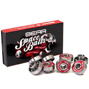 Bear Longboard Bearings: 8mm Space Balls Abec 7 Bearings- Edge Boardshop