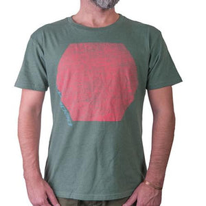 Loaded T Shirt: Hexagon T Shirts- Edge Boardshop