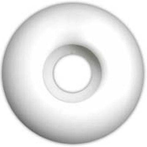 EDGE Skateboard  Wheels: Blank White 53mm Wheels- Edge Boardshop