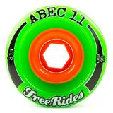 ABEC11 Longboard Wheels: Freerides 66mm 81a Wheels- Edge Boardshop