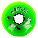 ABEC11 Longboard Wheels: ZigZags Classic 70mm 78a Wheels- Edge Boardshop