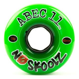 ABEC11 Longboard Wheels: NoSkoolZ 60mm 78a Wheels- Edge Boardshop