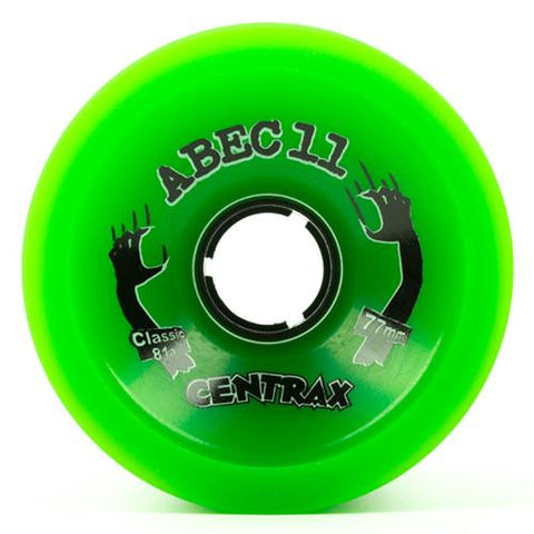 ABEC11 Longboard Wheels: Centrax Classic Formula 77mm 81a Wheels- Edge Boardshop