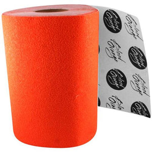 Blood Orange Grip Tape: Course Grip Tape Orange SHEET Grip Tape- Edge Boardshop