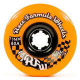 Sector 9 Longboard Wheels: RFW 73mm 82a Orange Round Lip