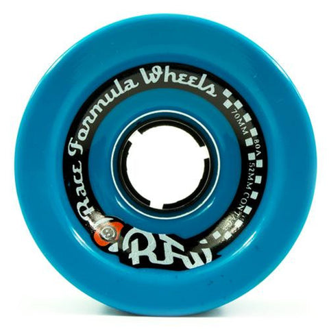 Sector 9 Longboard Wheels: RFW 70mm 80a Blue Square Lip