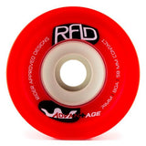 RAD Wheels: Advantage 74mm 80a Square Lip Red Wheels- Edge Boardshop