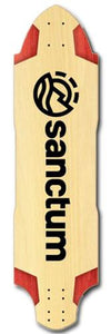 Sanctum Longboard Deck: Arabalest 37 Maple Boards- Edge Boardshop