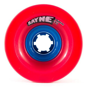 Rayne Longboard Wheels: Lust 75mm 77a Square Wheels- Edge Boardshop