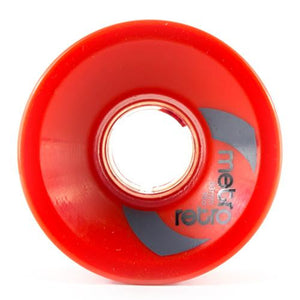 Metro Wheels: Retro 63mm 78a Red SALE Wheels- Edge Boardshop