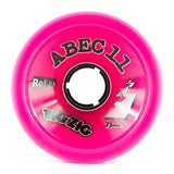 ABEC11 Longboard Wheels: Big Zigs Reflex 75mm 77a Pink Wheels- Edge Boardshop