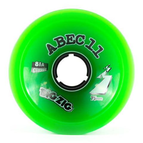 ABEC11 Longboard Wheels: BigZigs Classic 75mm 81a Wheels- Edge Boardshop