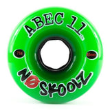 ABEC11 Longboard Wheels: NoSkoolZ 65mm 75a Wheels- Edge Boardshop