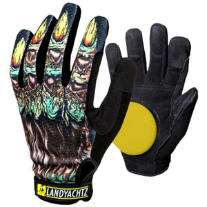 Landyachtz Slide Gloves: Werewolf Slide Gloves Slide Gloves & Pucks- Edge Boardshop