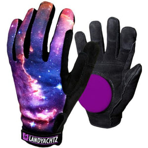 Landyachtz Slide Gloves: Space Slide Gloves Slide Gloves & Pucks- Edge Boardshop