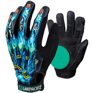 Landyachtz Slide Gloves: Zombie Slide Gloves Slide Gloves & Pucks- Edge Boardshop