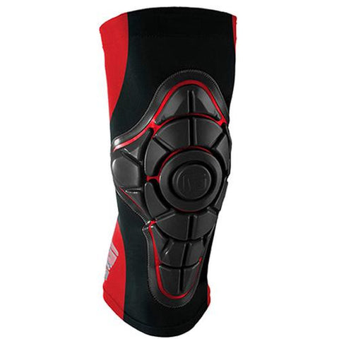 G-Form Protective Gear: Pro-X Knee Pads Red Knee Pads- Edge Boardshop