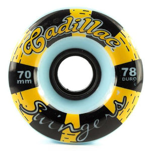 Cadillac Longboard Wheels: Swingers 70mm 78a Wheels- Edge Boardshop