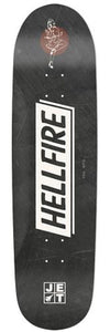 Jet Longboard Deck: Hellfire Series Agent 8.50 Boards- Edge Boardshop