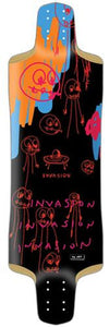 Jet Longboard Deck: Invasion Series Sonic Youth 33 Boards- Edge Boardshop