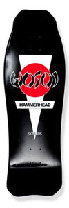 Hosoi Skateboard Deck: Hammerhead Double Kick Black Boards- Edge Boardshop