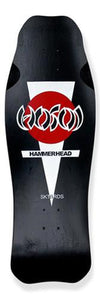 Hosoi Skateboard Deck: Hammerhead OG Black Boards- Edge Boardshop