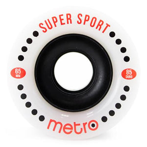 Metro Wheels: Super Sport 65mm 85a Wheels- Edge Boardshop