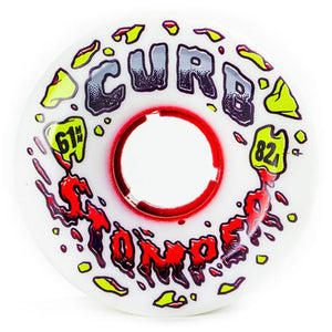 Venom Longboard Skateboard Wheels: Curb Stompers 61mm 82a