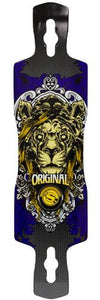 Original Longboard Deck: Freeride 41RC Lion Boards- Edge Boardshop