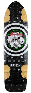 Jet Longboard Deck: Radar Series Thriller DH 38 Boards- Edge Boardshop