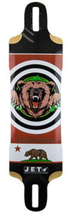 Jet Longboard Deck: Radar Series Solution 39 Boards- Edge Boardshop
