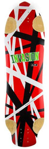 Jet Longboard Deck: Invasion Series Sonic Peanut 33 Boards- Edge Boardshop