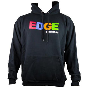 EDGE Sweatshirt: EDGE OG Hoodie Black Sweatshirts- Edge Boardshop