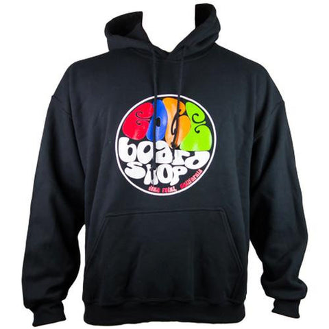 EDGE Sweatshirt: EDGE Groovy Hoodie Black Sweatshirts- Edge Boardshop