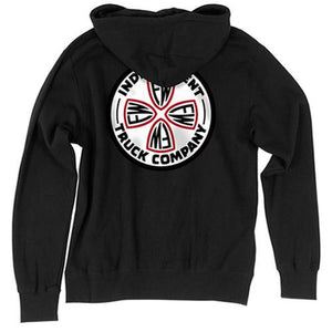 Independent Trucks Sweatshirt: FW Cross Black Sweatshirts- Edge Boardshop