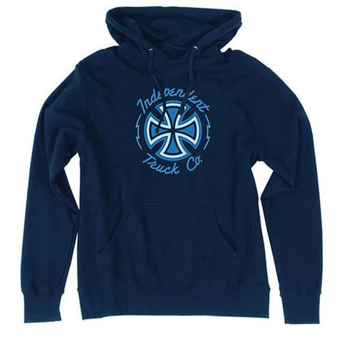 Independent Trucks Sweatshirt: Voltage Blue Sweatshirts- Edge Boardshop