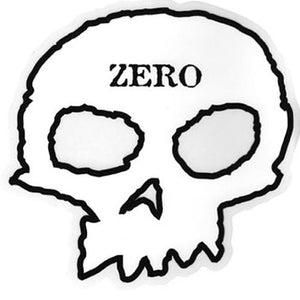 Zero Skateboards Sticker: Skull