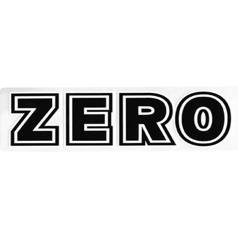 Zero Skateboards Sticker: Bold