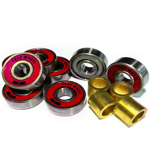 Free Wheel Bearings: Free Escorts Abec 9 Bearings- Edge Boardshop