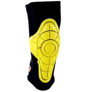 G-Form Protective Gear: Pro-X Knee Pads Iconic Yellow Knee Pads- Edge Boardshop
